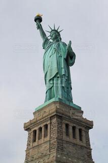 ニューヨークの自由の女神の写真・画像素材[4376412]