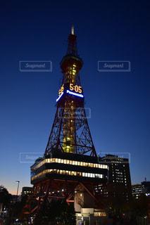 札幌といえばテレビ塔の写真・画像素材[858571]