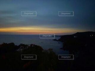 鳥羽の日の出前の写真・画像素材[4170257]