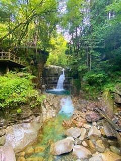 竜神の滝の写真・画像素材[4170271]