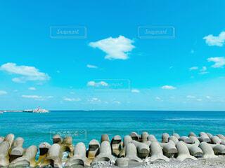 石川県能登半島の海の写真・画像素材[4282318]