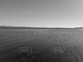 大きな水域の写真・画像素材[4160237]