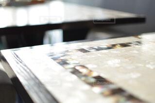 テーブルの写真・画像素材[4319451]