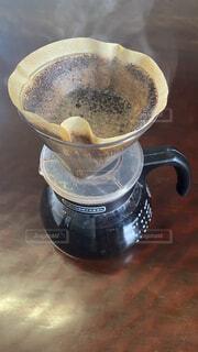 コーヒーを入れるの写真・画像素材[4199224]