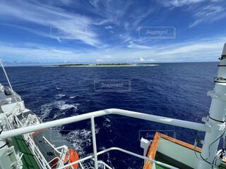南鳥島の写真・画像素材[4872009]