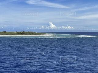 南鳥島の写真・画像素材[4872010]