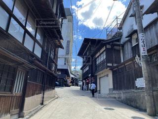 昔の街並みの写真・画像素材[4872048]