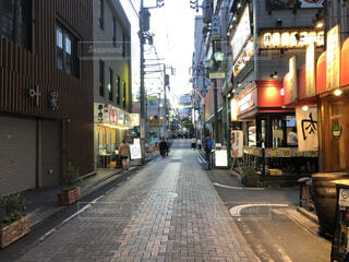 商店街の通りの写真・画像素材[4155805]