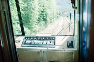 電車から見た風景の写真・画像素材[1002983]