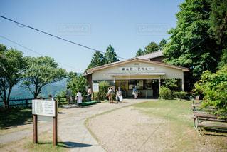 叡山ロープウェイの写真・画像素材[1003004]