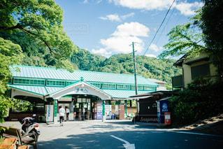 八瀬比叡山口駅の写真・画像素材[1003007]