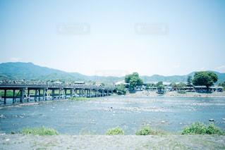 渡月橋の写真・画像素材[1003012]