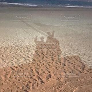 砂浜の写真・画像素材[4162236]