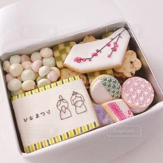ひなまつりのクッキー缶の写真・画像素材[4209300]