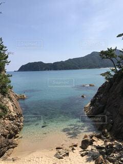 プライベートビーチの写真・画像素材[4164629]