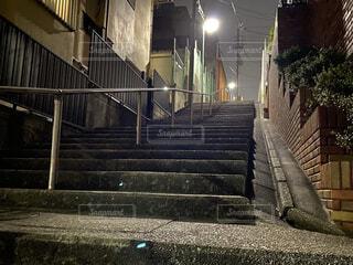 何気ない階段の写真・画像素材[4222427]