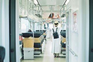 電車の旅の写真・画像素材[4184259]
