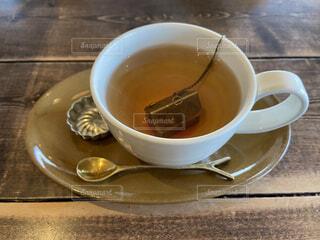 オシャレな紅茶と共にひと休みの写真・画像素材[4169439]
