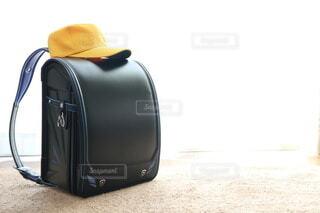 ランドセルと黄色い帽子の写真・画像素材[4182312]