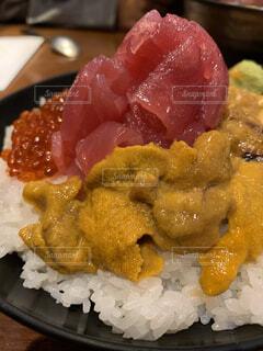 飯テロ海鮮丼の写真・画像素材[4169260]