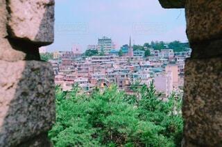 奥の街の写真・画像素材[4174030]