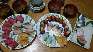 手作り寿司の日の写真・画像素材[4174577]