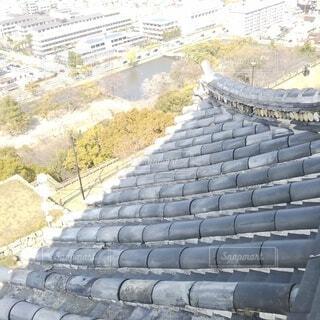 丸亀城 天守から見た風景の写真・画像素材[4256909]