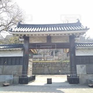 丸亀城大手二の門の写真・画像素材[4264019]