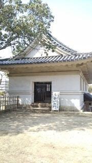 丸亀城大手一の門内部展示の写真・画像素材[4264040]