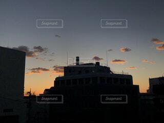 夕暮れの空の写真・画像素材[4179632]
