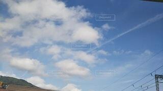 雲と青空との写真・画像素材[4177049]
