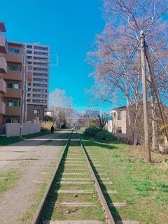 北海道の廃線の写真・画像素材[4177420]