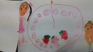 娘の絵画の写真・画像素材[4308564]