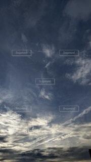 空の雲の写真・画像素材[4735858]
