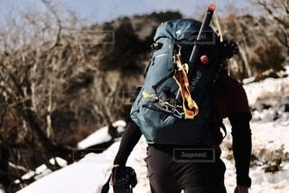 藤原岳登山の写真・画像素材[4178103]