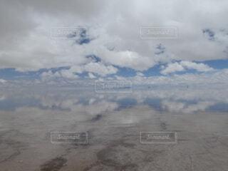 ウユニ塩湖の写真・画像素材[4180912]