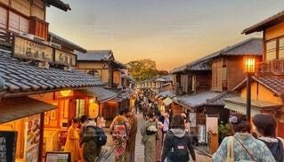 京都二年坂の写真・画像素材[4189765]