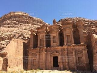 ヨルダン死海とペトラ遺跡のアラビア旅行の写真・画像素材[4185732]