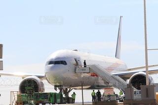 政府専用機 ボーイング777 B777 トリプルセブンの写真・画像素材[4185752]