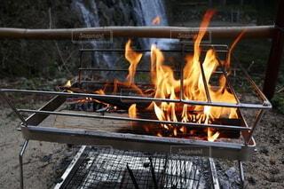 焚き火の写真・画像素材[4194807]