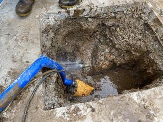 漏水修理の写真・画像素材[4810615]
