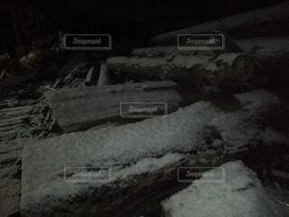 雪化粧の写真・画像素材[4193481]