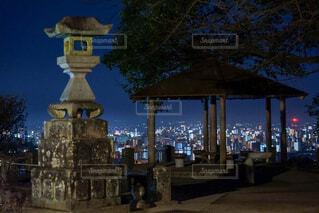加藤清正が見守る風景の写真・画像素材[4197486]
