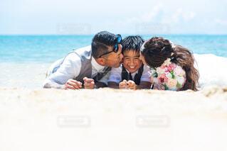 沖縄ウェディングフォトの写真・画像素材[4215928]