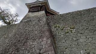 立派な石垣の写真・画像素材[4204233]