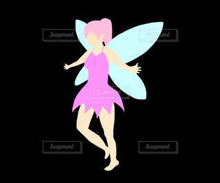 妖精(ピンク)の写真・画像素材[4211309]