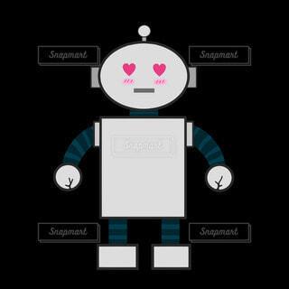 惚れるロボットの写真・画像素材[4221458]
