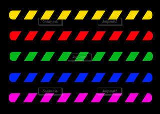 デンジャーテープセットの写真・画像素材[4531049]