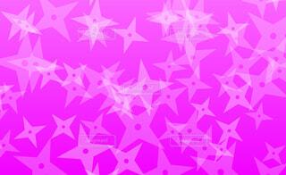 手裏剣パターン(ピンク背景)の写真・画像素材[4626020]