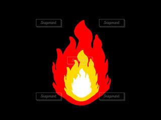 炎の写真・画像素材[4771640]